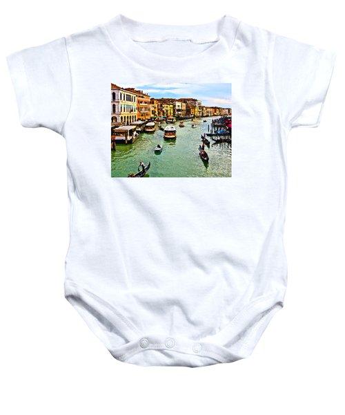 Traghetto, Vaporetto, Gondola  Baby Onesie