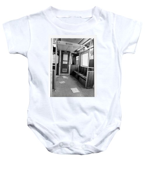 Train Car  Baby Onesie