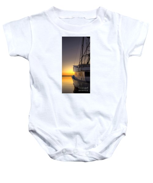 Tranquility On The Bay Baby Onesie