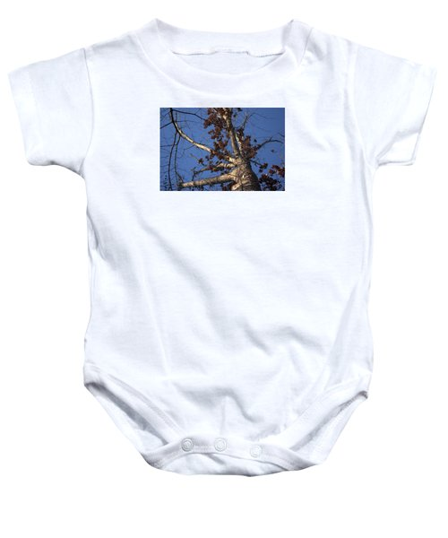 Tree And Branch Baby Onesie