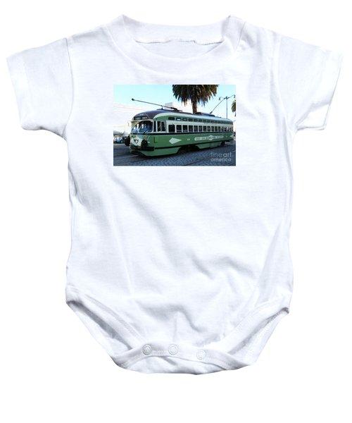 Trolley Number 1078 Baby Onesie
