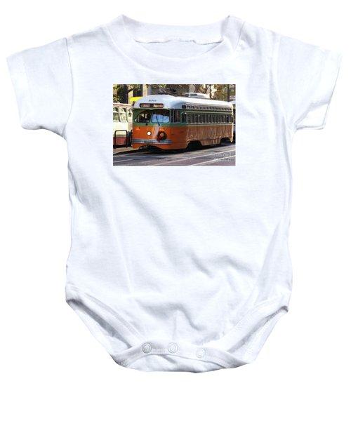 Trolley Number 1080 Baby Onesie