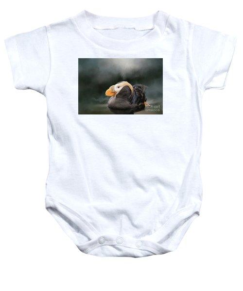 Tufted Puffin Baby Onesie