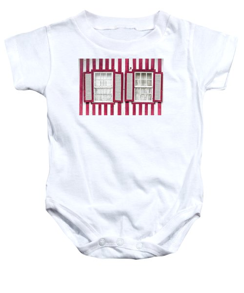 Two Old Windows Baby Onesie