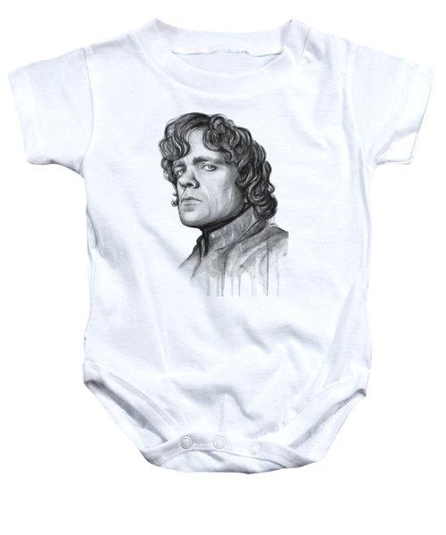 Tyrion Lannister Baby Onesie by Olga Shvartsur
