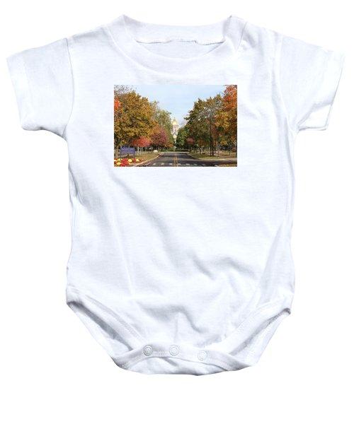 University Of Notre Dame Baby Onesie