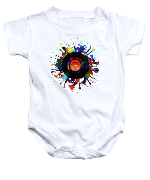 Unplugged Baby Onesie by Mustafa Akgul