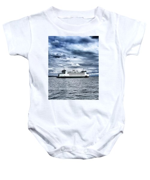 Vashon Island Ferry Baby Onesie