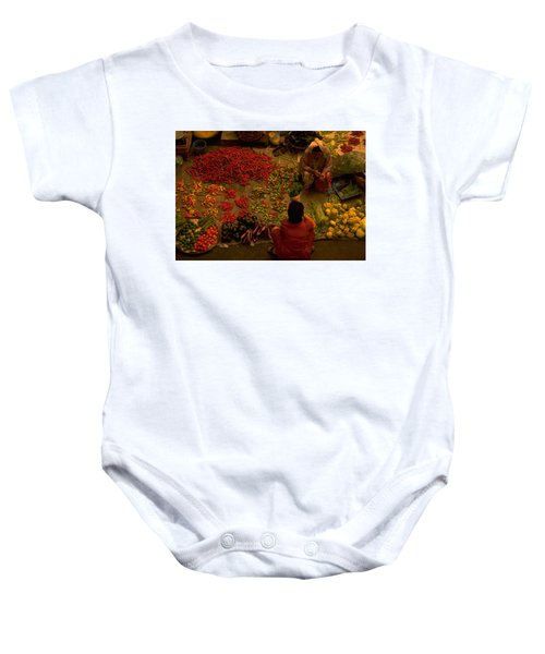Vegetable Market In Malaysia Baby Onesie