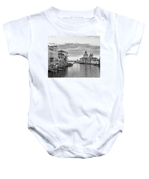 Baby Onesie featuring the photograph Venice Morning by Richard Goodrich