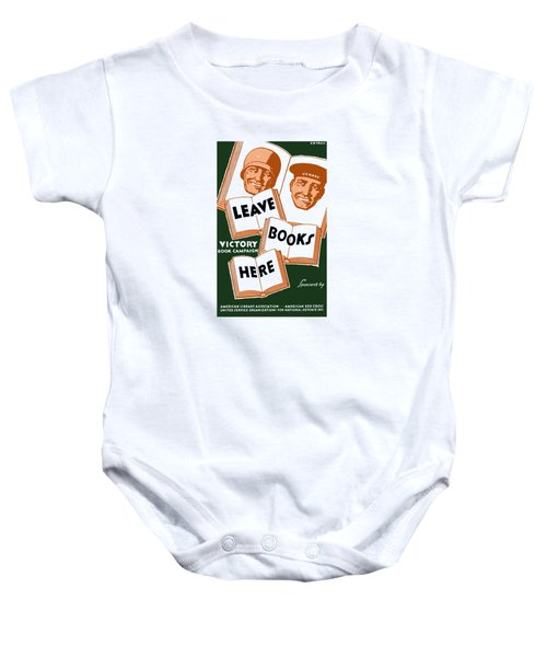 Victory Book Campaign - Wpa Baby Onesie