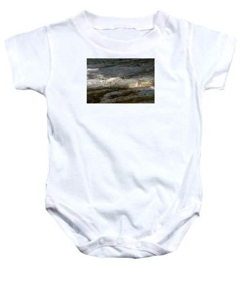 View From Masada Baby Onesie by Dubi Roman