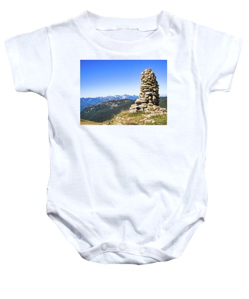 View Of The Apuan Alps Baby Onesie