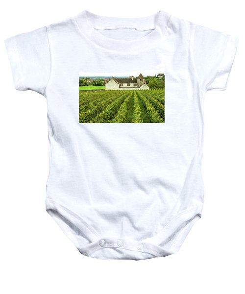 Vineyard In France Baby Onesie