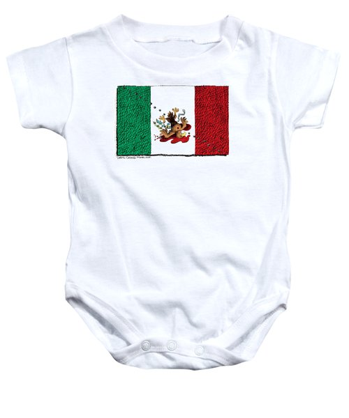 Violence In Mexico Baby Onesie