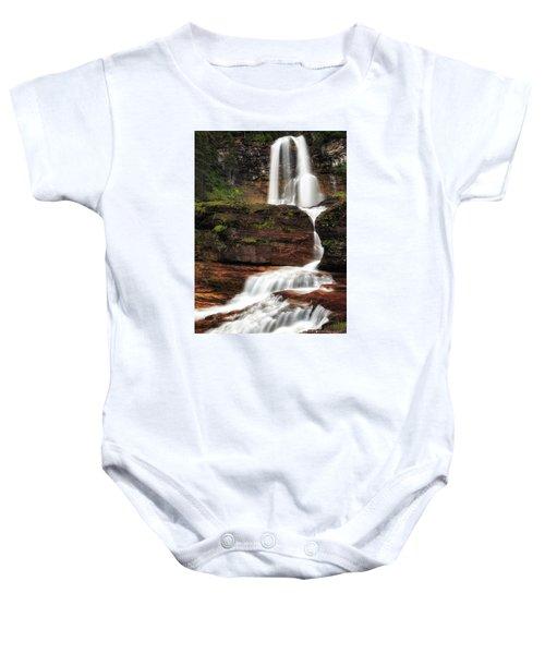 Virginia Falls Glacier National Park Baby Onesie