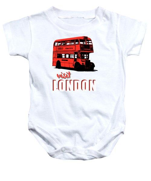 Visit London Tee Baby Onesie