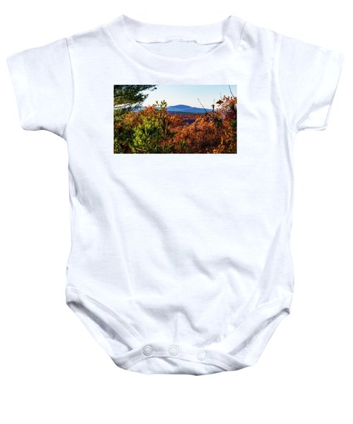 Wachusett In Fall Baby Onesie