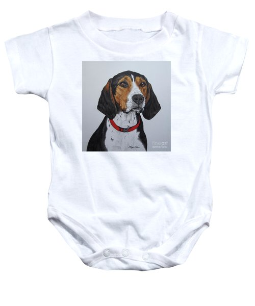 Walker Coonhound - Cooper Baby Onesie by Megan Cohen