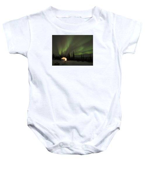Wall Tents And Aurora Baby Onesie