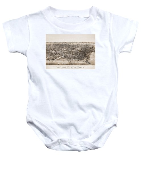 Washington D.c., 1892 Baby Onesie