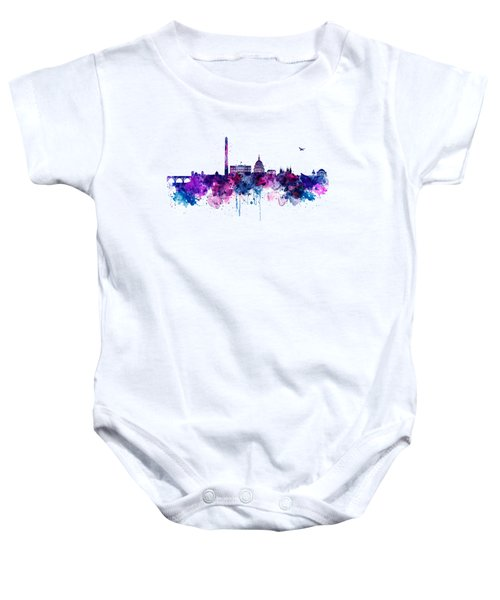 Washington Dc Skyline Baby Onesie