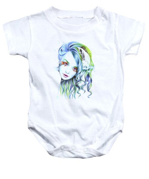 Water Baby Onesie by E Drawings