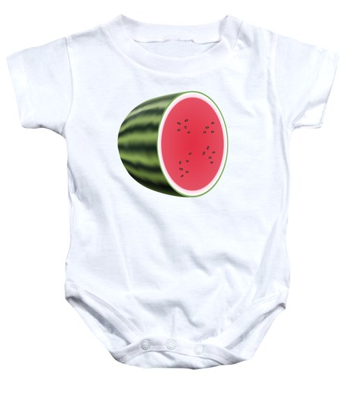 Water Melon Baby Onesie