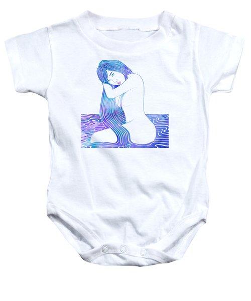 Water Nymph Lxxxii Baby Onesie