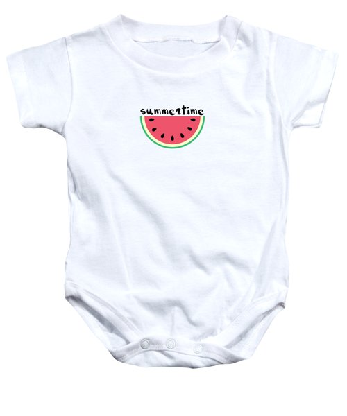Watermelon Baby Onesie by Alina Krysko
