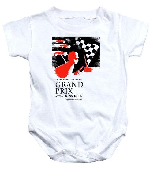 Watkins Glen Grand Prix 1951 Baby Onesie