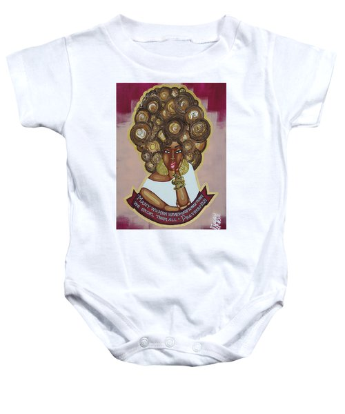 We Excel Them All Baby Onesie