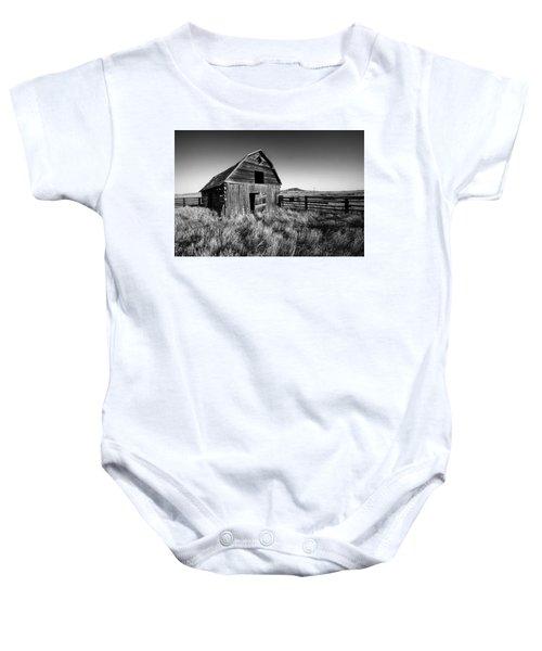 Weathered Barn Baby Onesie