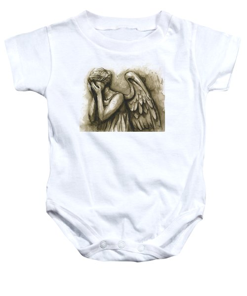 Weeping Angel Baby Onesie