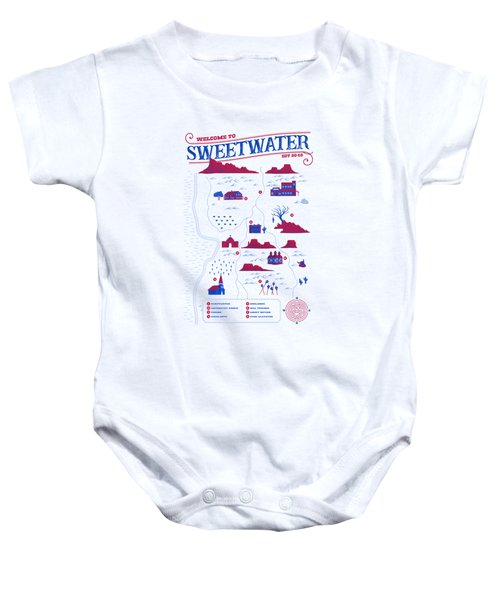 Welcome To Sweetwater Baby Onesie