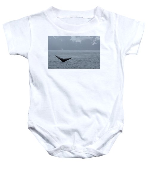 Whale Fluke Baby Onesie