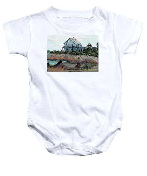 Whales Of August House Baby Onesie