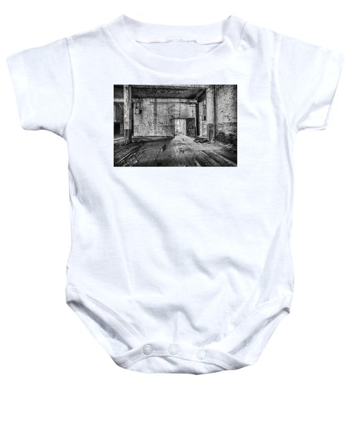 What Awaits Outside Baby Onesie