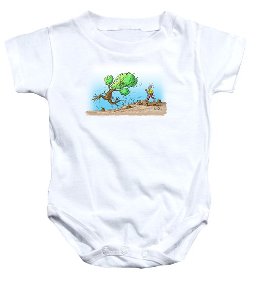 When The Going Gets Tough Baby Onesie