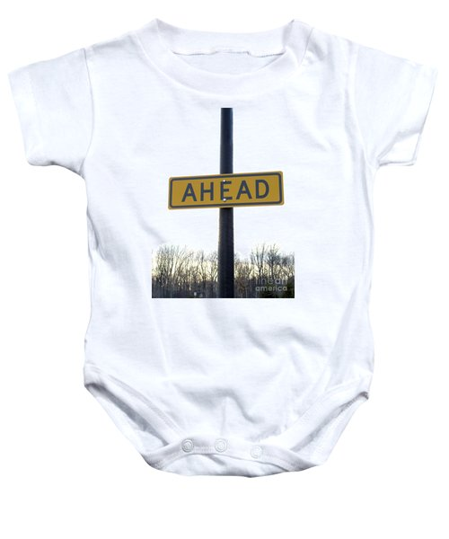 Where The Great Unknown Lies Baby Onesie