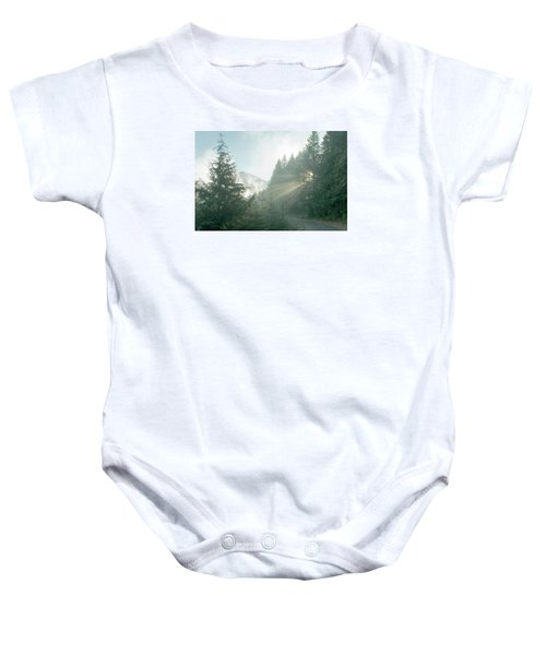 Where Will Your Road Take You? Baby Onesie