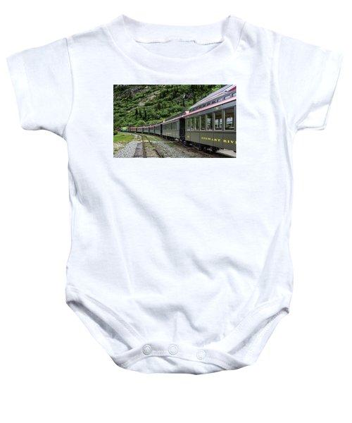 White Pass And Yukon Railway Baby Onesie