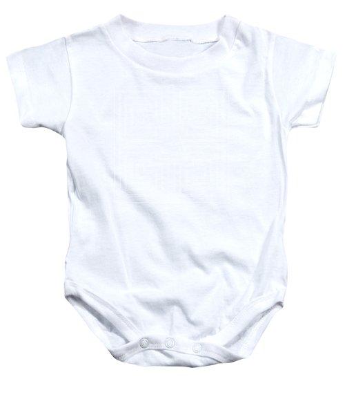 White Transparent Design Baby Onesie