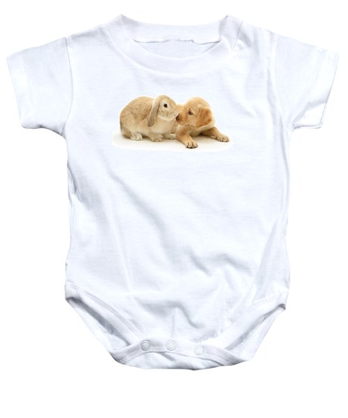 Who Ate All The Carrots Baby Onesie