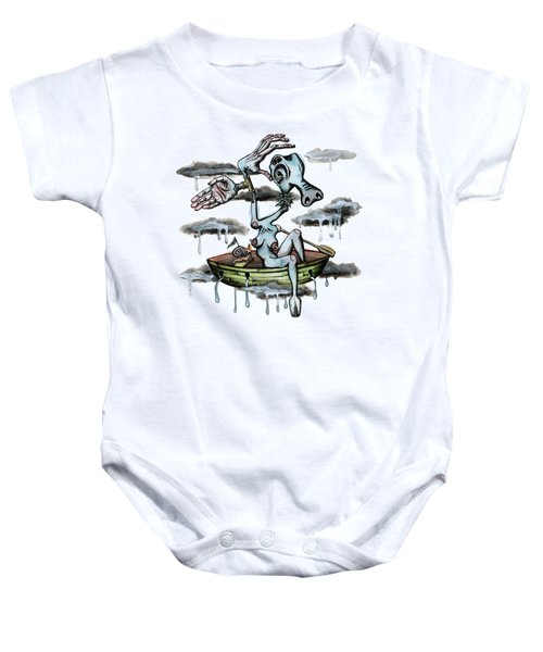 Why Sky Captain Baby Onesie by Kelly Jade King