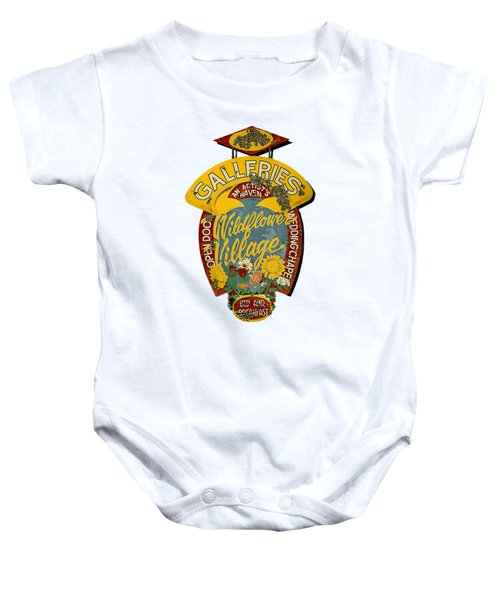 Wildflower Village Baby Onesie