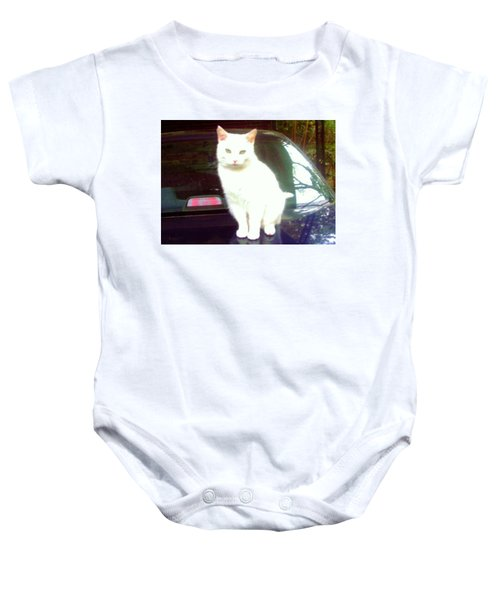 Will Wash Car For Treats Baby Onesie