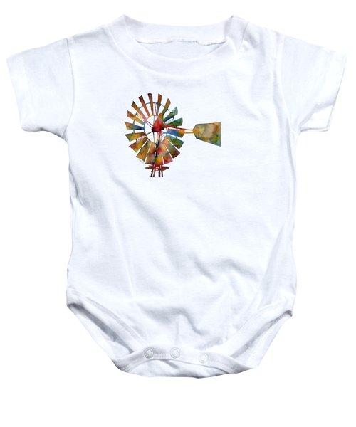 Windmill Baby Onesie