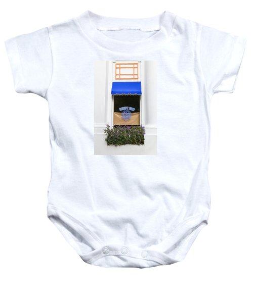Window Trimming Baby Onesie