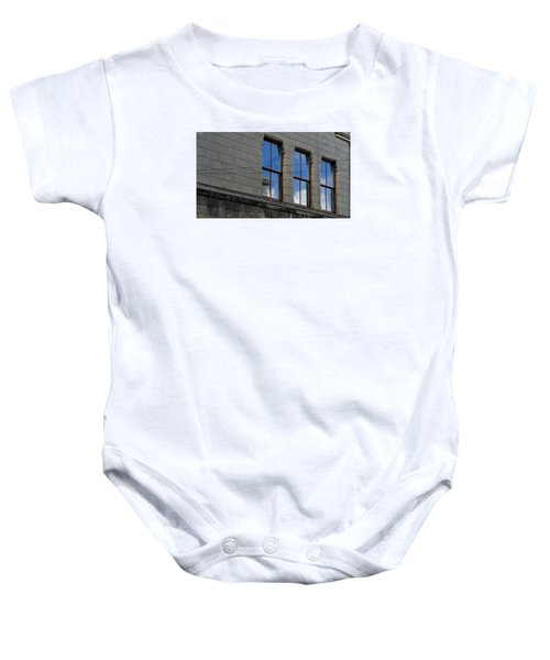 Baby Onesie featuring the photograph Windows by Pedro Fernandez